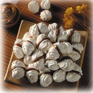 merengues con manjar